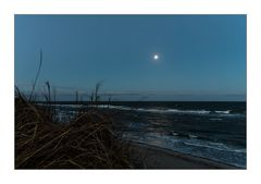 Full Moon over the Baltic Sea