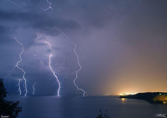 Fulmini in Mare