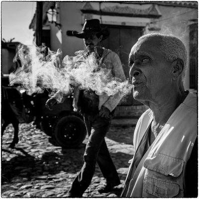 fumador a lo gaucho