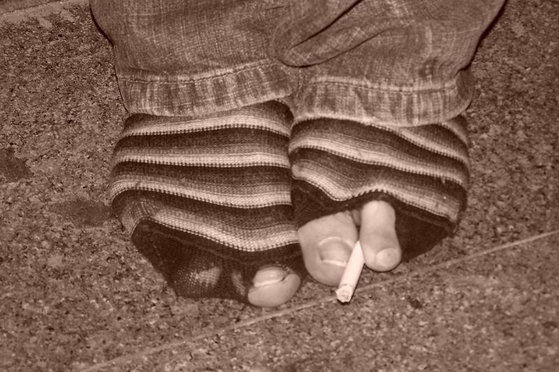 fume des pieds !!!!