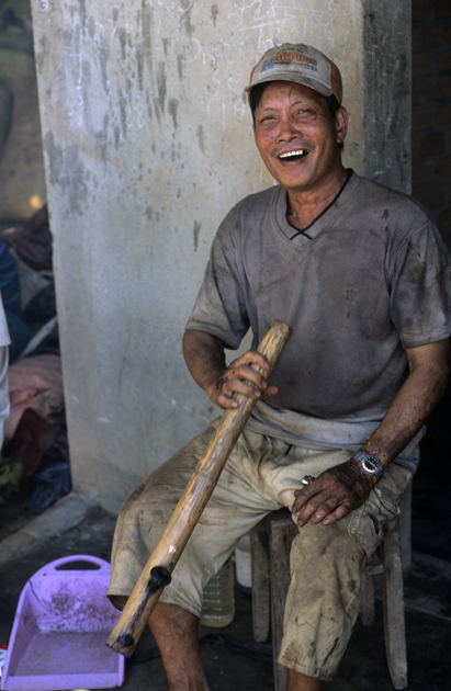 Fumeur au Vietnam