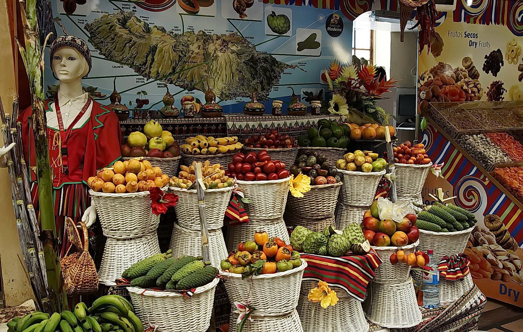 Funchal : Markthalle - 1
