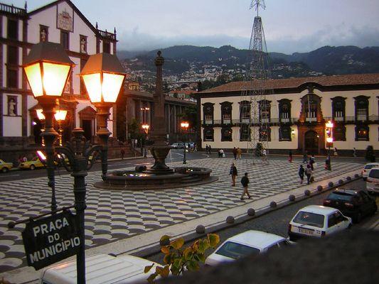 Funchal, Rathausplatz