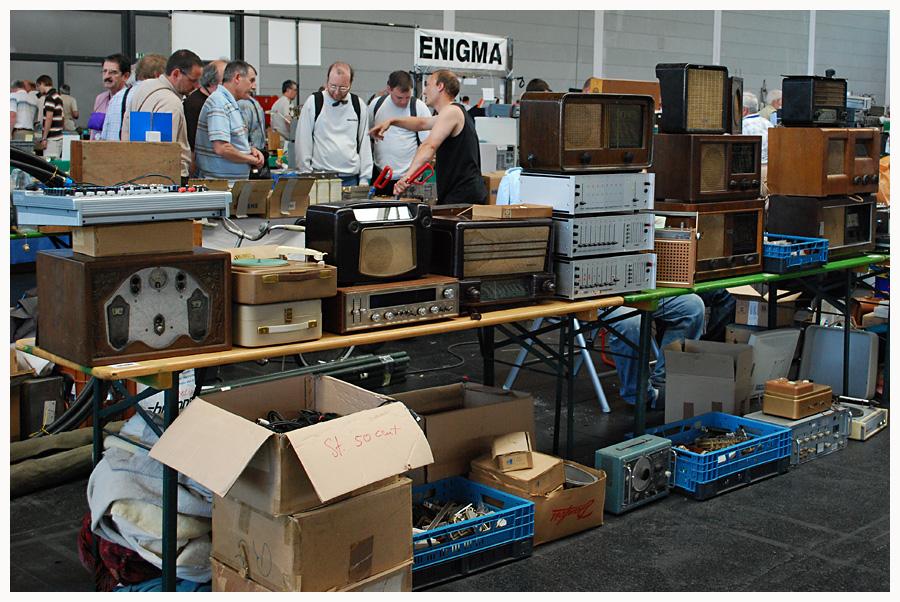 Fundgrube für Sammler alter Radios
