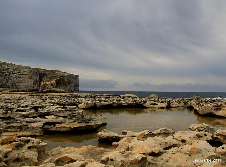 Fungus Rock auf Gozo