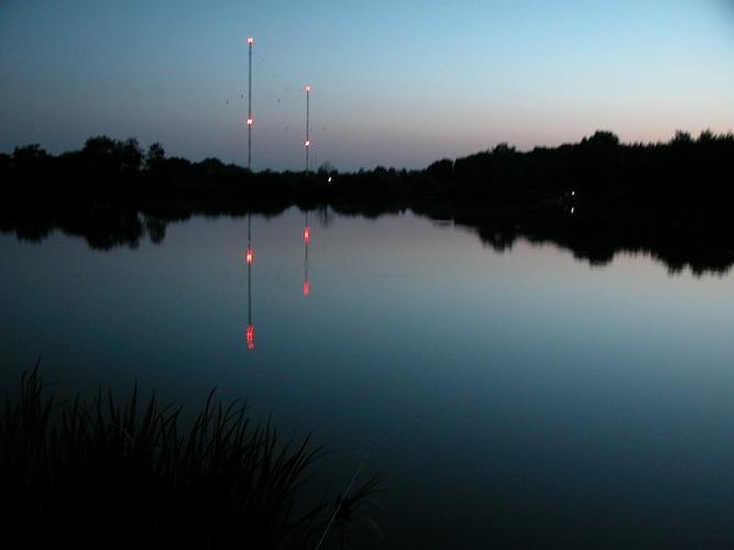 Funkturmsee - an der Schwelle zur Nacht