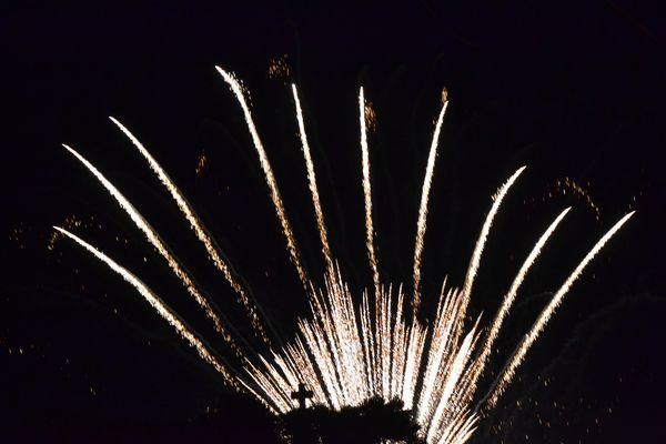 Fuochi d'artificio nel cielo di S.M. di Leuca