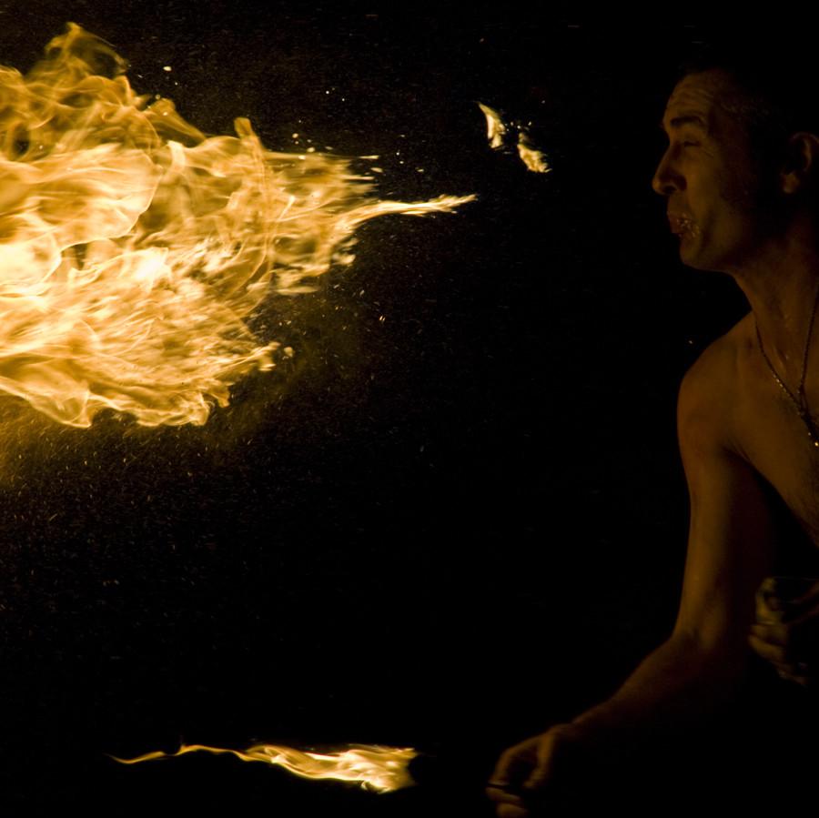 Fuoco dal corpo.. fuoco dell'anima...