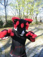 Fursuit Kostüm ( ausgefallener Wolf )
