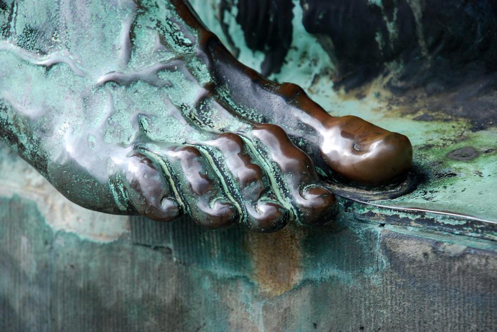 Fuß des Bacchus