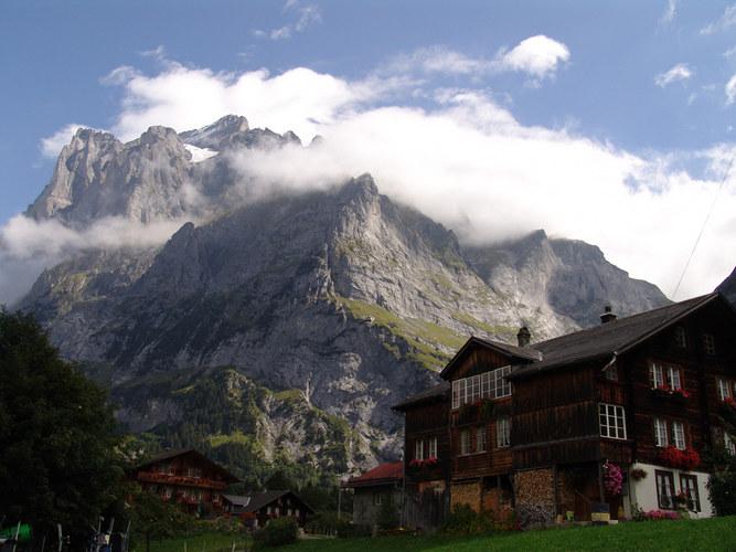 Fuss des Jungfraugebierge Grindelwald