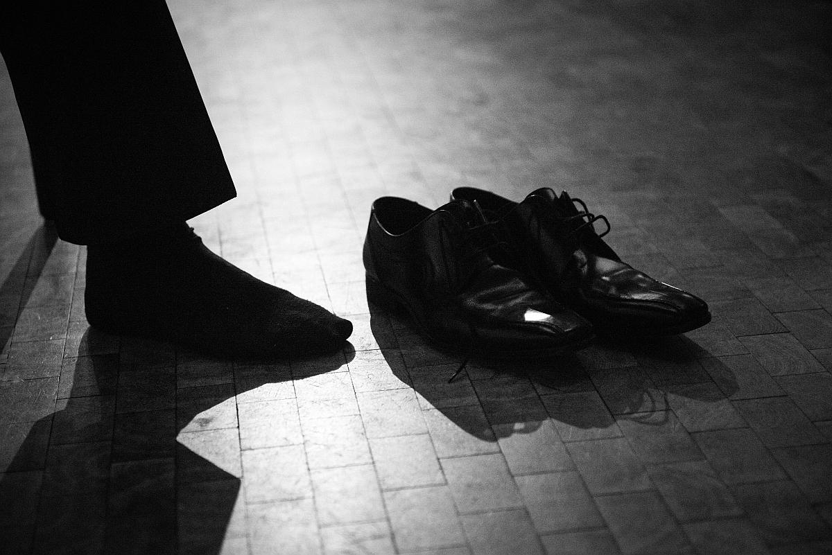 Fuß und Schuh