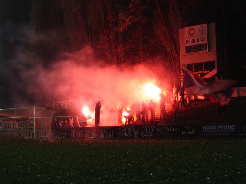 Fußballfeuer
