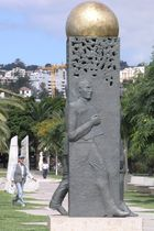 Fußgänger in Funchal
