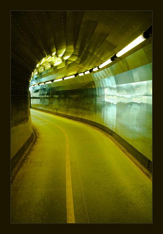 Fussgänger Tunnel