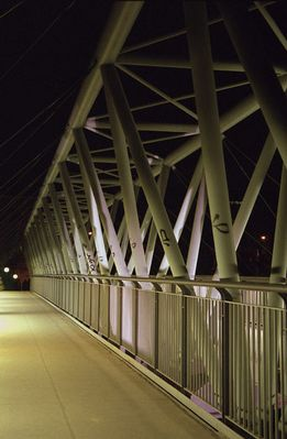 Fußgängerbrücke über den Donaukanal