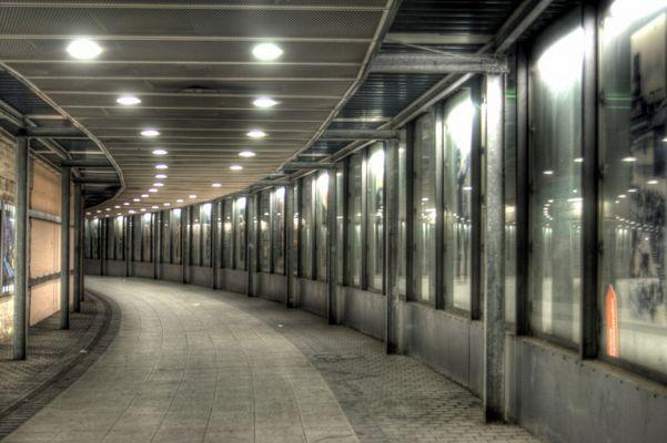 Fußgängertunnel Weltkulturerbe Völklingen (Saarland)