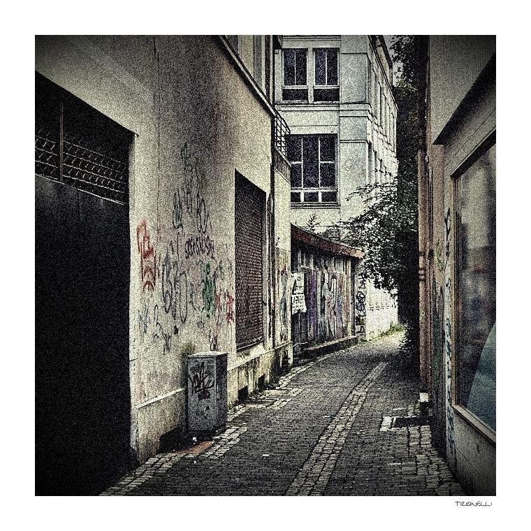 Fußgängerzone ...