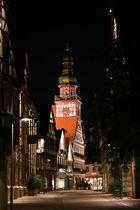 Fussgängerzone Kirchheim bei Nacht