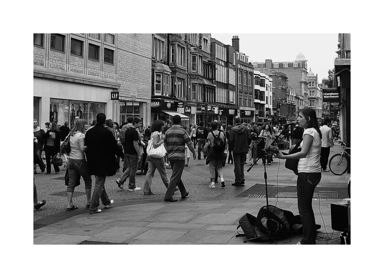 Fußgängerzone Oxford