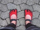 Fußschuhe (Vibram Five Fingers)