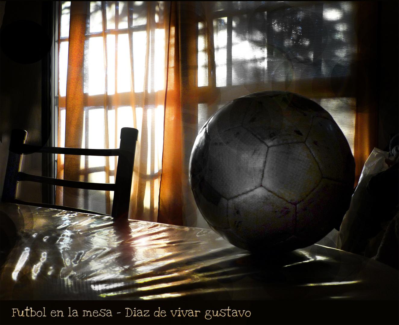 Futbol en la mesa