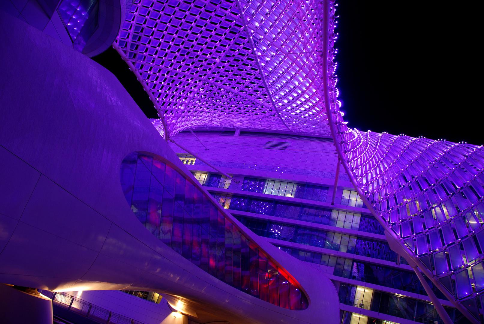 Futuristisches Abu Dhabi