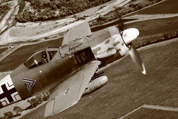 FW 190 air-to-air