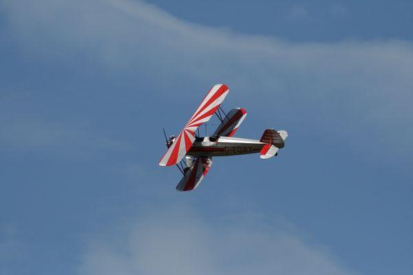 FW 44 im Flug