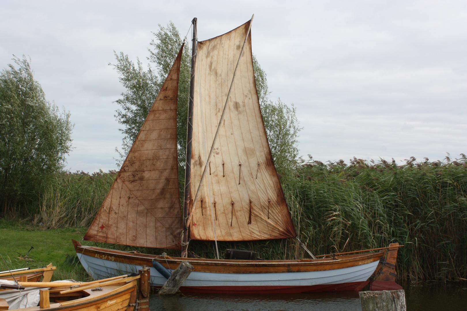 Gaaaanz altes Zeesboot