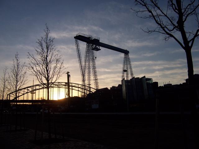 Gablenzbrücke im Umbau