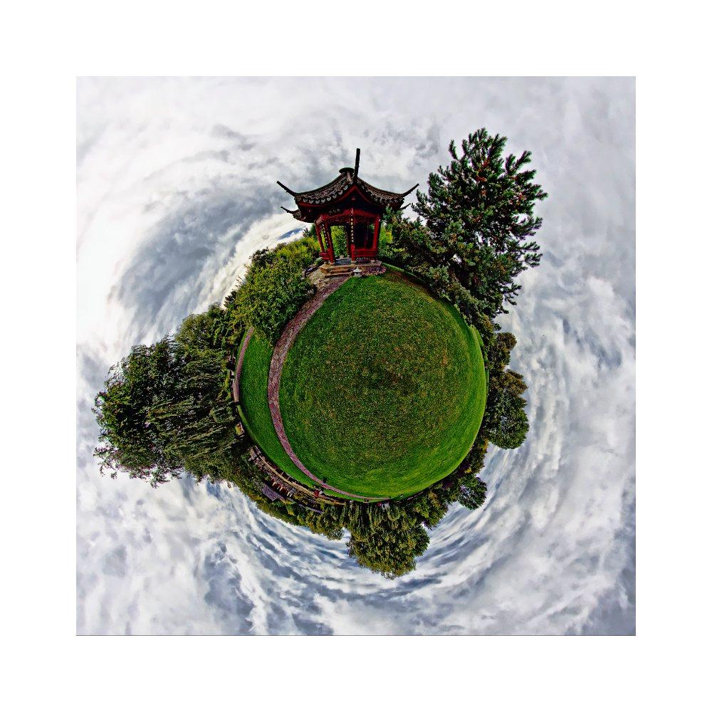 Gärten der Welt auf dem Planet