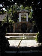 Gärten in Granada