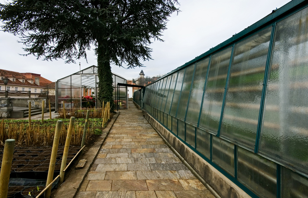 Gärtnerei im Grazer Burggarten