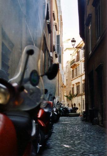 Gässchen in Rom