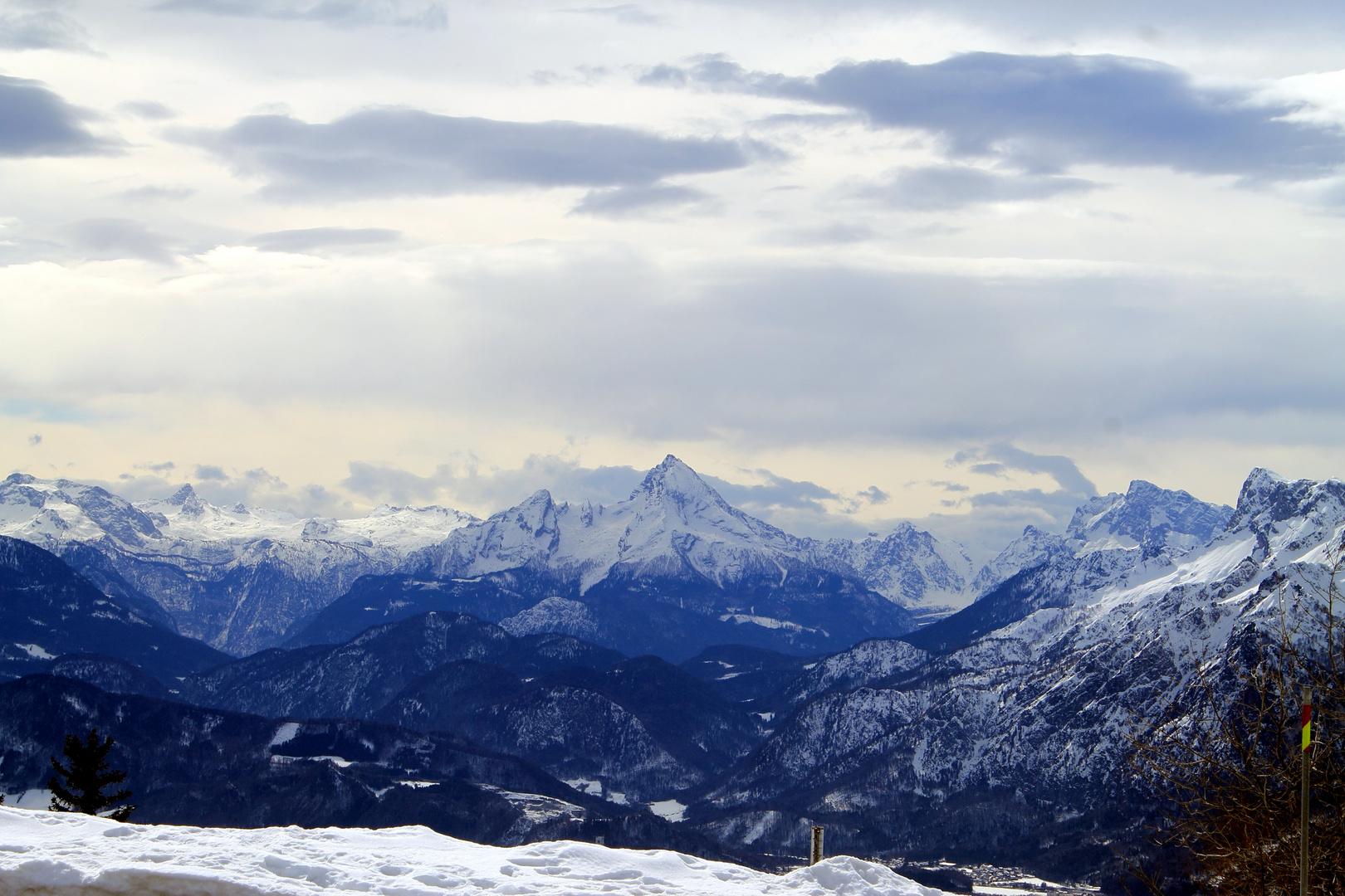 Gaisberg - Berglandschaft