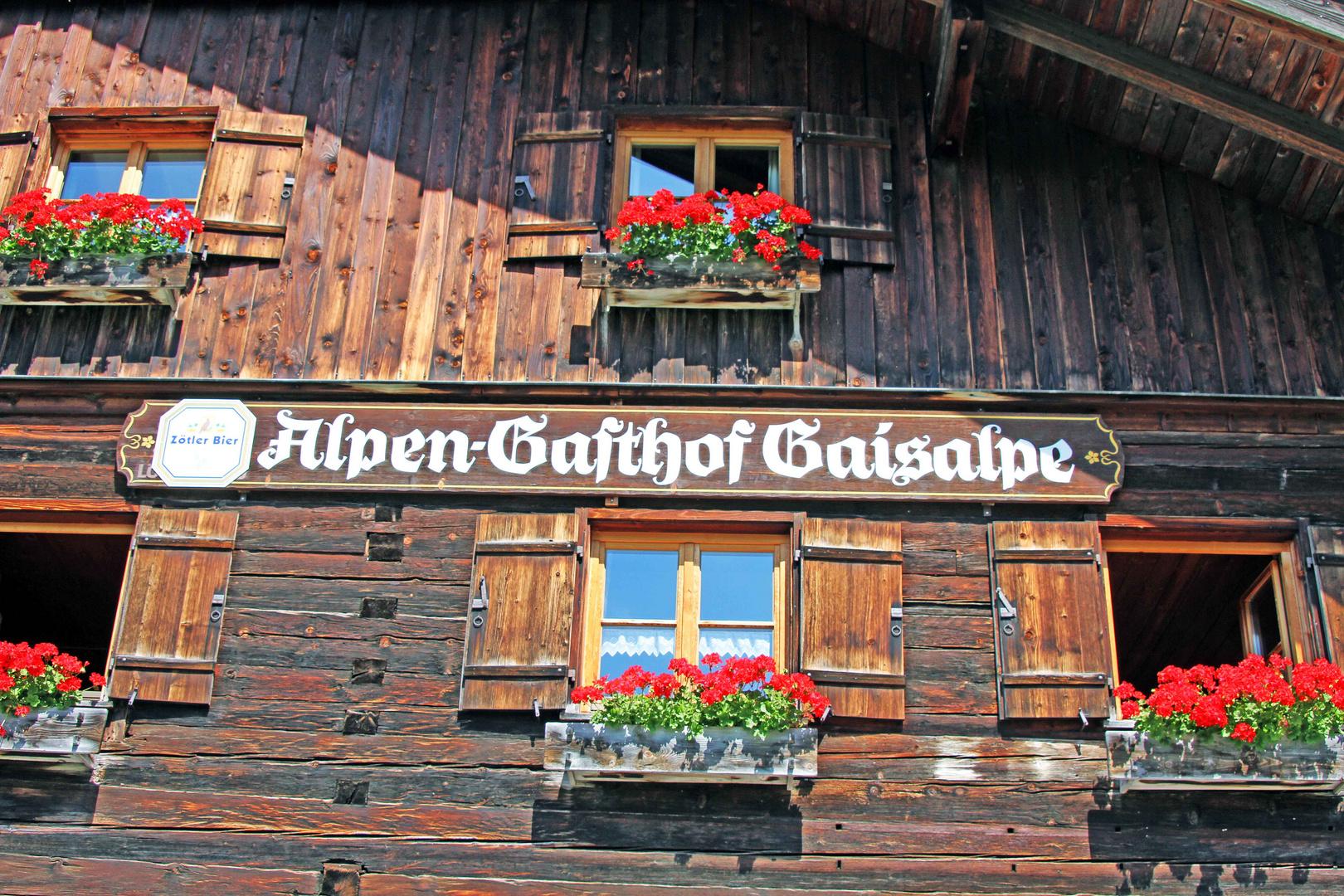 Gaiseralpe in Oberstdorf