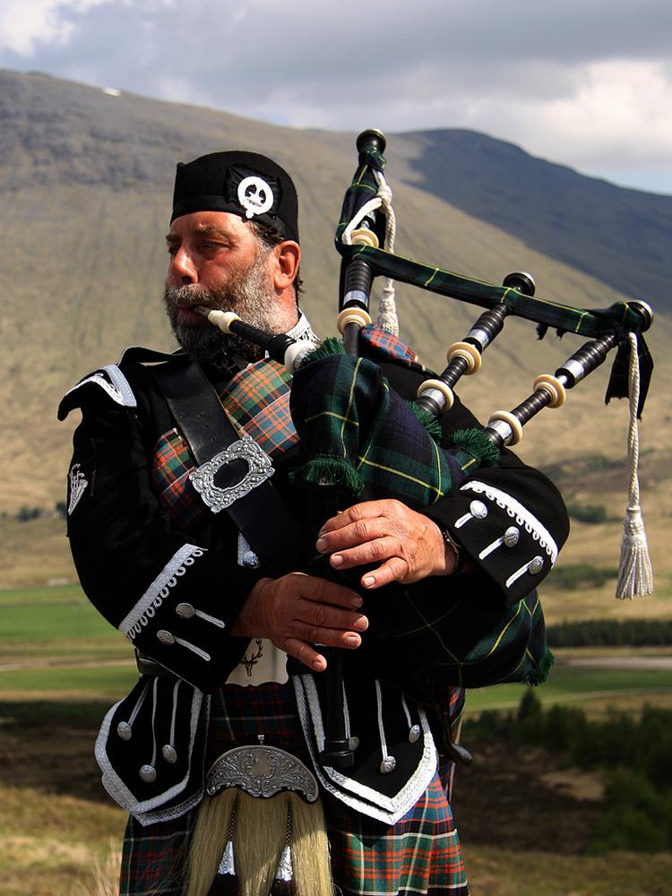 Gaitero Escocés de las tierras altas