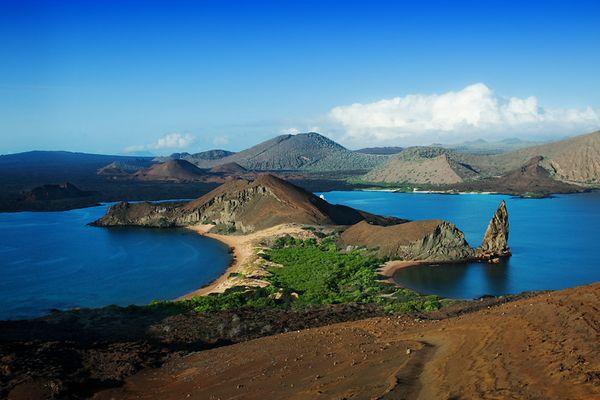 Galapagos Buchten