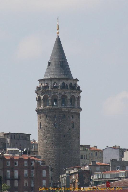 Galata Tower in Istanbul 2006