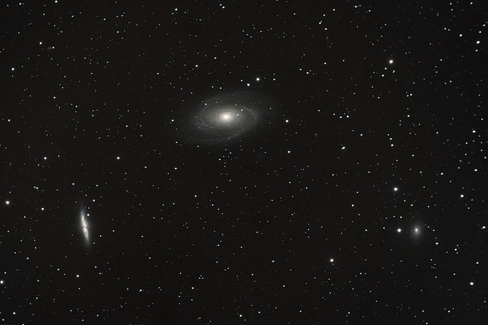 Galaxien M81 und M82 im Sternbild Großer Bär