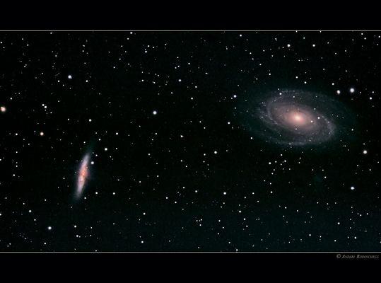 Galaxienpaar M81 & M82