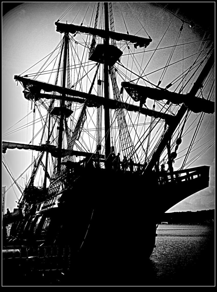 Galeón español (avistado por el enemigo).