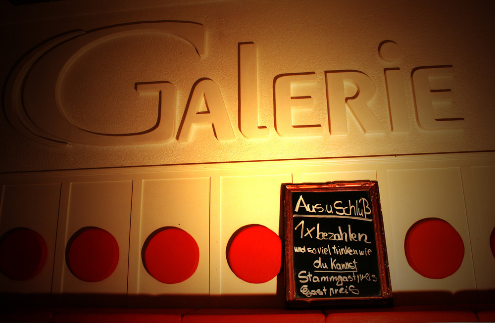 Galerie - Aus & Schluss