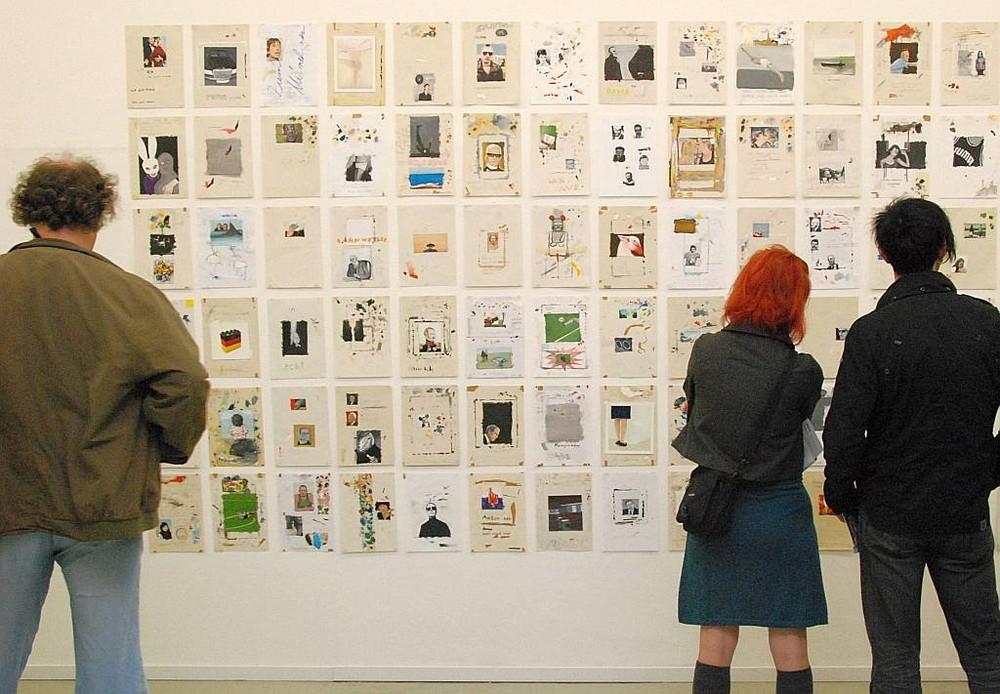 Galerie-Besucher