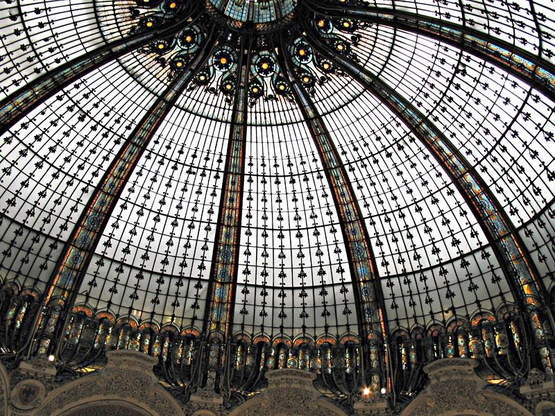Galerie Lafayette, Kuppel