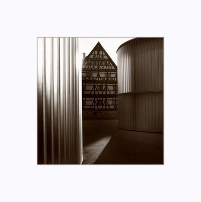 Galerie Stihl in Waiblingen - moderne trifft fachwerk