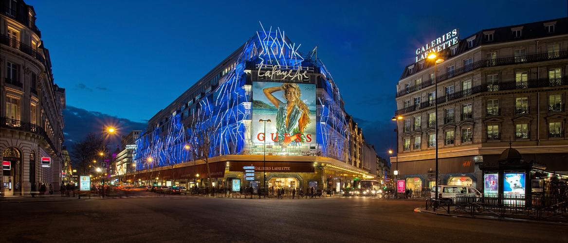 Galeries Lafayette...