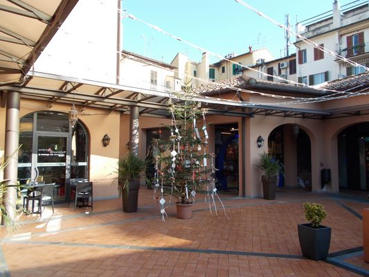Galleria commerciale a Natale