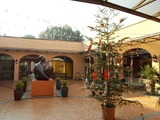 Galleria commerciale a Natale1